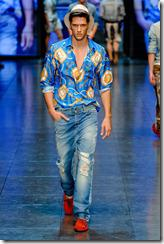 D&G Menswear Spring Summer 2012 Collection Photo 6