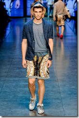 D&G Menswear Spring Summer 2012 Collection Photo 14