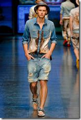 D&G Menswear Spring Summer 2012 Collection Photo 7