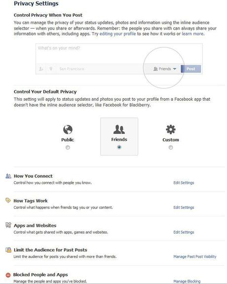 How to Safely use Facebook