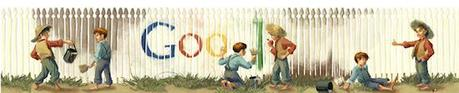 Google Celebrates Mark Twain's Birthday With A Doodle