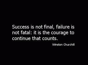 Success = suffering + sacrifice
