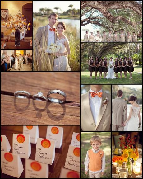 Wedding Wednesday: Real Wedding Feature from Style Me Pretty