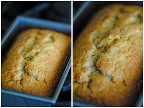 banana bread, from scratch.