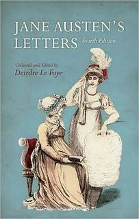 LATEST GIVEAWAYS - WINNERS OF JANE AUSTEN'S LETTERS AND JANE'S FAME