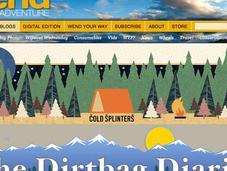 Outside Online Lists Their Favorite Gear, Bike, Environmental Adventure Blogs