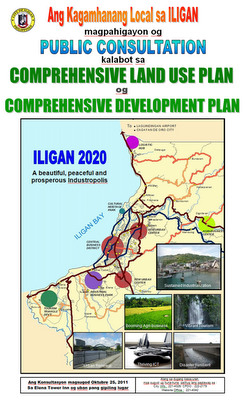 ILIGAN CITY'S COMPREHENSIVE LAND USE PLAN (CLUP) AND COMPREHENSIVE DEVELOPMENT PLAN (CDP)| A Public Consultation