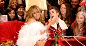 Justin Bieber and Mariah Carey in New Music Video