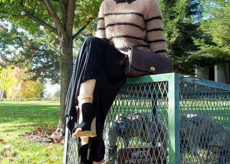 Striped Mohair Lush Top