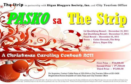Pasko sa The Strip| A Christmas Caroling Contest