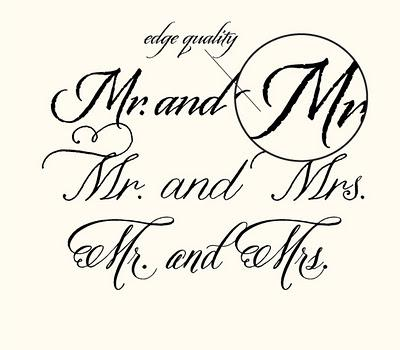7 Calligraphy Styled Wedding Fonts