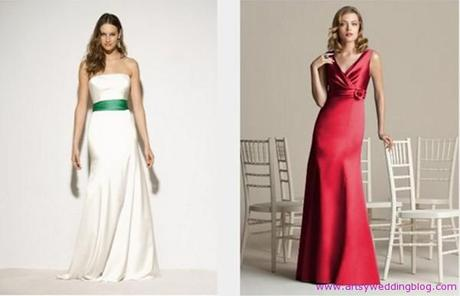 Christmas wedding dress ideas Green color also represents the spirit of