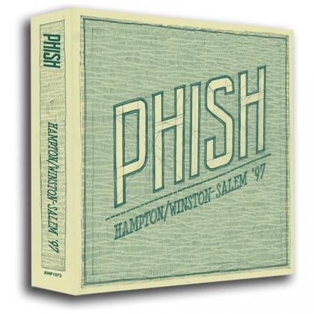 Phish: Hampton Winston/Salem '97 7-CD Box Set