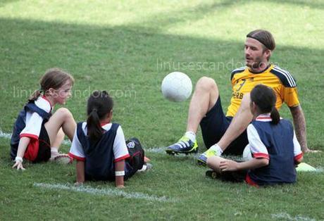 David Beckham in Manila