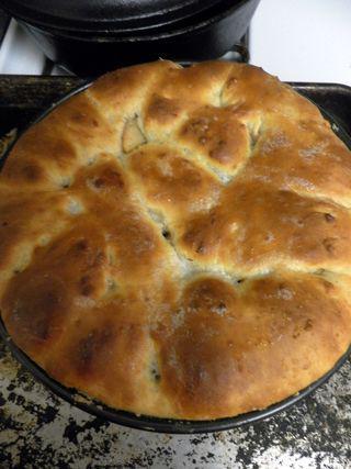 Autumnal apple bread - Bake to golden brown