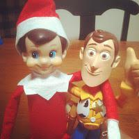 Our Top 3 Elf On The Shelf Ideas! {If your Elf is a bit odd like ours!}