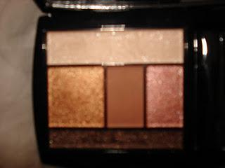 Lancome Color Design Eye Brightening Palette~Kissed By Bronze