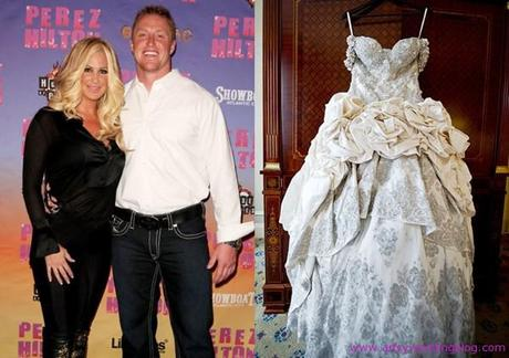 Kim Zolciak Ties The Knot in Three Outfits - Paperblog