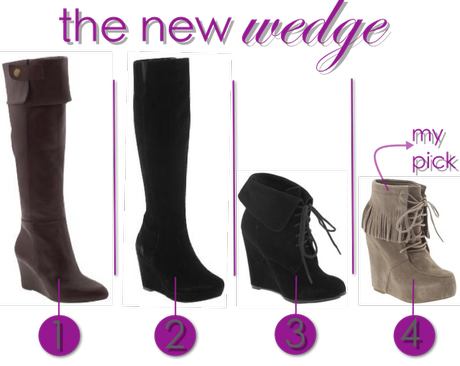 Fall Boot Guide: Wedge