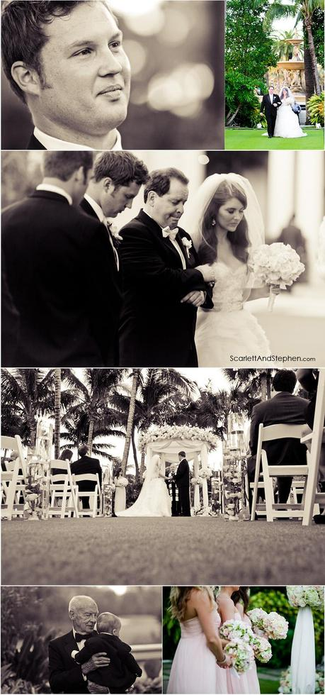 Jobria & Josh are married! // The Breakers Palm Beach Wedding