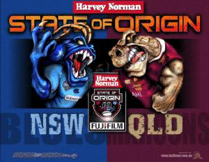 State of Origin: the Blues and Maroons