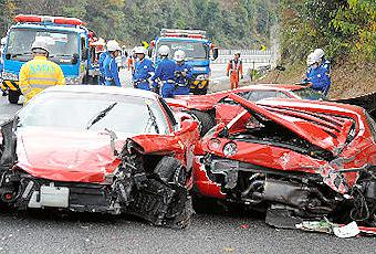Most Expensive Mercedes >> The Most Expensive Car Crash In History - Paperblog