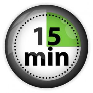 The 15 Minute Miracle What Can You