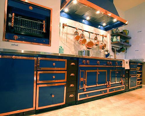 La Cornue CornuFé 110 Stove Gloss Black - Artisan Kitchen and Bath