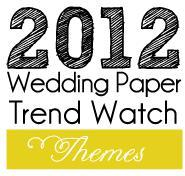 2012 Wedding Paper Trend Watch #1: Soft Themes