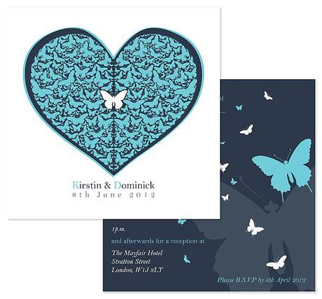 wedding invitation by Wendy Bell Designs 5