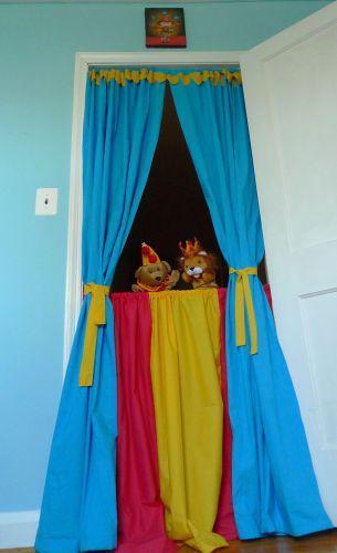 Homemade Puppet Theater