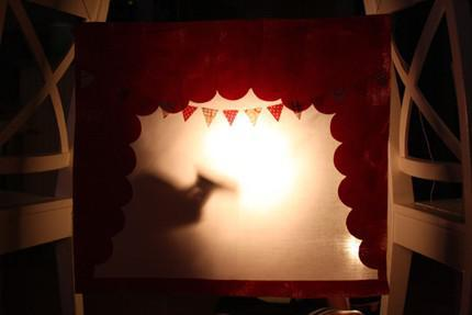 Puppet theatre dee- I- why? because we love it!