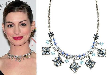 Anne Hathaway Star NecklaceFab Find Friday: Anne Hathaway All Glammed Up