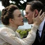 Keira Knightley and Michael Fassbiner as Spielrein and Jung