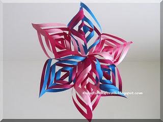 3D Snowflake Christmas Decoration