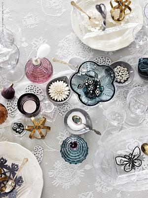 Christmas table decoration Ikea style ♥