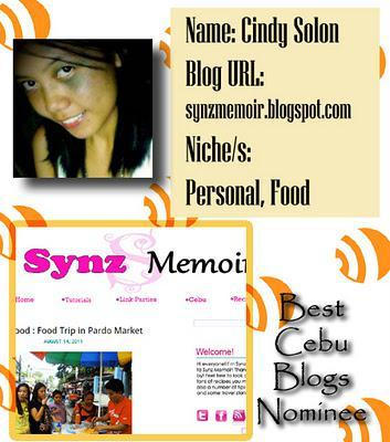 Best Cebu Blogs Award 2011