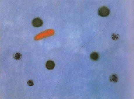 Modern abstract painting, joan miro, abstract art, art