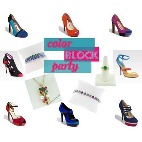 Tuesday Shoesday (Color) Block Party