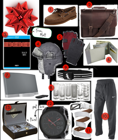 What Guys {Really} Want: My Brother's Holiday Gift Guide