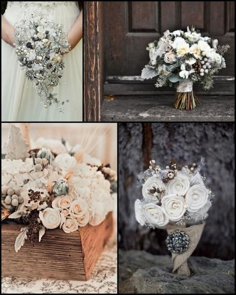 Wedding Wednesday: Warm White Winter