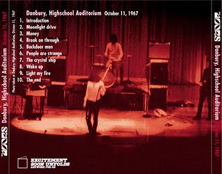 1967-10-11 Danbury High School Auditorium - Danbury, CT