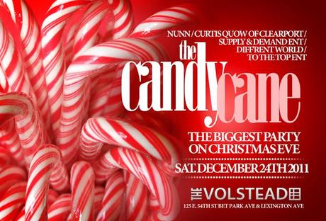 The Candy Cane Christmas Eve Party at Volstead 12/24/2011
