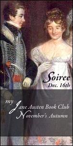 JANE AUSTEN'S BIRTHDAY SOIREE - BEST WISHES FROM YOUR BEST MEN, MISS AUSTEN!