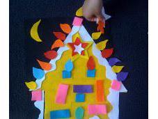 (Felt) Gingerbread House