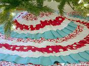 Crafted Sparrow: Days Christmas Ruffled Tree Skirt