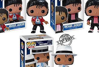 Michael Jackson Pop Rocks Vinyl Figures By Funko The