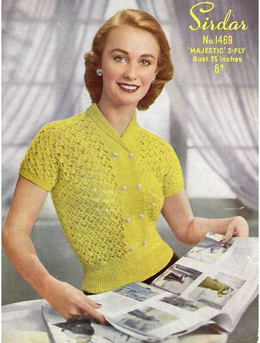 Vintage Knitting Pattern Paperblog