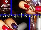 Nail Polish: Jordana Mardi Gras Ruby Slippers