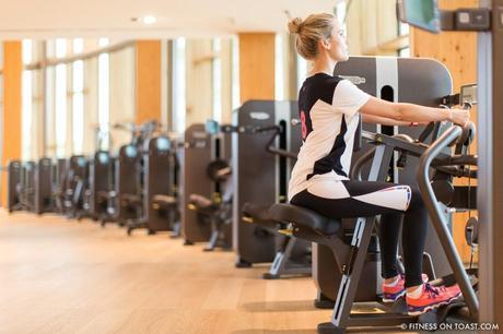Fitness On Toast Faya Blog Girl Gym Healthy Workout Nutrition Fashion Training Sport Technogym Italy Wellness Campus Mywellness Lifestyle Treadmill Cross Trainer Weights Blogger Trip Machines Italy Cesena Bologna Travel-15